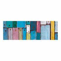 Fotokarton Holz bunt  49,5 x 68 cm