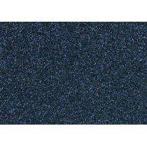 Glitter-Bügelfolie antikblau