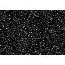 Glitter-Bügelfolie black magic