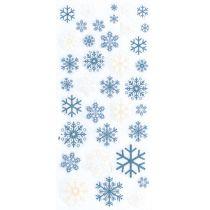 Glitter Sticker Schneeflocken The winter combo / 1 Bogen