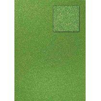Glitterkarton,olivgrün