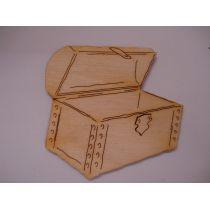Holz Kleinteil Schatztruhe in unterschiedlichen Größen