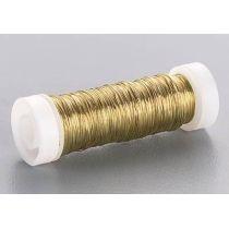 Lackdraht, 0,3 mm ?  gold  50 m/Spule