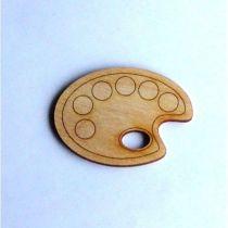 Malpalette als Türschild 200 mm