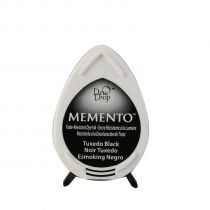 Memento ink pad dew drop tuxedo black