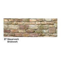 Motiv Fotokarton  300g/m² Mauerwerk