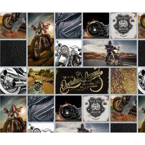 Motiv Fotokarton Bikes Motorrad 300g/m²