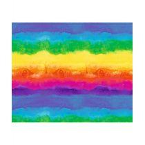 Motivfotokarton Aquarell Regenbogen 49,5 x 68 cm