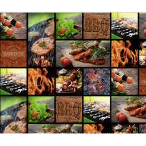 Motivkarton Barbecue 49,5 x 68 cm