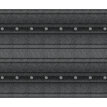 Motivkarton Leder schwarz 49,5 x 68 cm