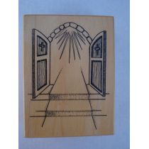 Motivstempel Kirchenportal