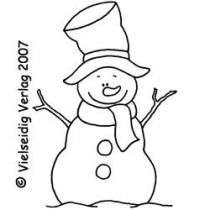 Mr. Snow 6x8 cm