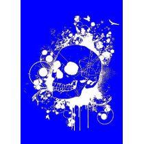 My style Schablone: Skull  A4