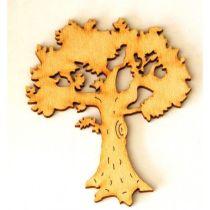 Obstbaum mit Laub 120 mm