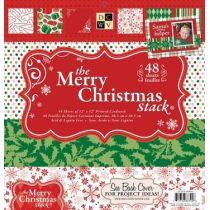 Paper stack Merry Christmas 2011 30,5X30,5 cm 48 Bogen