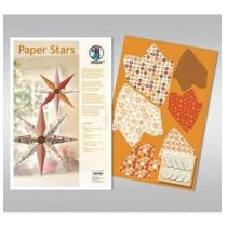 Paper Stars in braun Lounge