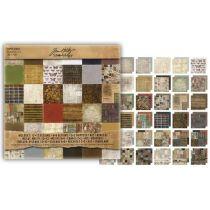 Paperpad crowded attic / 36 Bogen 30,5 x 30,5 cm