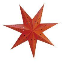 Papier-Stern, 7 Spitzen, 45 cm, weiß