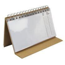 Pappmach?-Dauerkalender, 20,5x12,5 cm