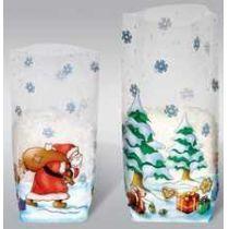 Plätzchenbeutel, Geschenktüte Weihnachten Nikolaus farbig