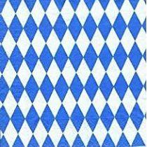Rauten-Tonzeichenpapier 130 g/m² blau weiß 49,5 x 68 cm
