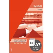 S-line A6 Karte, passendes Kuvert und Briefbogen je 5 Stück - hagebutte