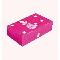 Schul- & Kreativbox Pink Princess 35x22,5x10cm