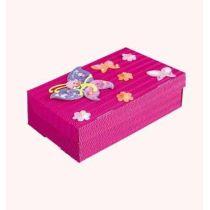 Schul- & Kreativbox Schmetterling 35x22,5x10cm