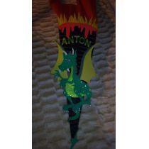Schultüte Dragon Handarbeit Zuckertüte individualisierbar