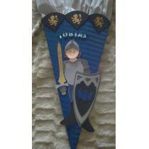 Schultüte Ritter2 in Handarbeit für Sie hergestellt