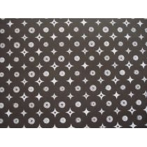 Scrapbook 30,5x30,5cm Glitzer The Glitter Stack Kreise und Sterne