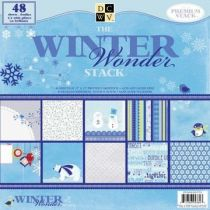 Scrapbook Paper stack The winter combo 30,5X30,5 / 48 Bogen