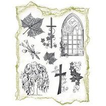 Silikon Stempel Condoleaunce von Viva Decor kirchliche Motive