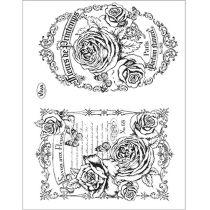 Silikon Stempel von Viva Decor 2014 Fleurs de Printemps