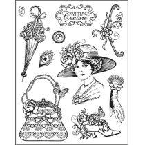 Silikon Stempel von Viva Decor 2014 Vintage Couture