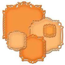 Spellbinder Nestabilities Decoration Elements S4-387 Labels Twenty-Two
