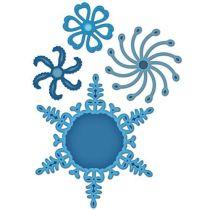 Spellbinder Shapeabilities Snowflake Pendants S5-054