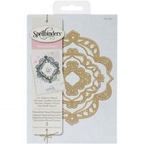 Spellbinders 3 Stanzformen S4-527 Nestabilities Decorative Fancy Diamond Deco Elements
