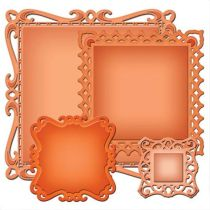 Spellbinders Stanzform Captivating Squares S4-414