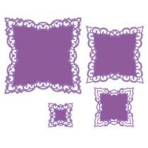 Spellbinders Stanzformen Nestabilities S4-473 Label 42 Dekorative Elemente