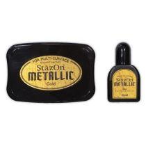 Staz on Stempelkissen metallic