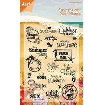 Stempel (Englische Texte) Summer Holiday
