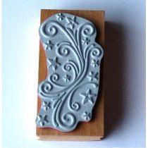 Stempel Filigranranke 4 x 10 cm