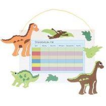 Stundenplan-Bastelset Dinosaurier  21 x 30 cm