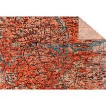 "Tonzeichenpapier ""Maps"" 34 x 49,5 cm"