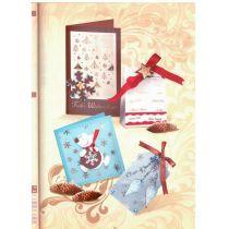 Transparentpapier Golden Style folienveredelte Schrif Frohe Weihnachten