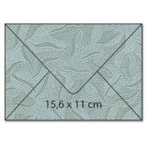 Umschlag C6 / Karte / Karton A4 Rechteck  starfish platinum