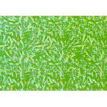 Verzierwachs, Hologramm-apfelgrün 175 x 80 x 0,5 mm