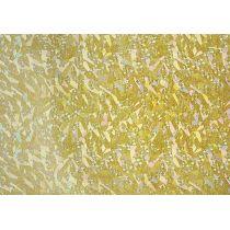 Verzierwachs, Hologramm-gold 175 x 80 x 0,5 mm
