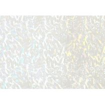 Verzierwachs, Hologramm-weiß 175 x 80 x 0,5 mm